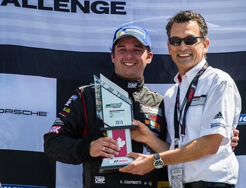 Cinderella finish for Chapinotti at season opener for Porsche GT3 Cup Canada